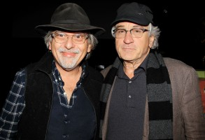 Art Spiegelman and Robert De Niro'Ellis' screening and 'Unframed Ellis Island' Pop-Up Exhibition, Galerie Perrotin, New York, America - 23 Oct 2015Tribeca Enterprises hosts the New York premiere of 'Ellis', a film by JR.