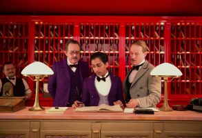 Editorial use only. No book cover usage.Mandatory Credit: Photo by 20th Century Fox/Kobal/Shutterstock (5885034e)Tony Revolori, Owen WilsonThe Grand Budapest Hotel - 2014Director: Wes Anderson20th Century FoxUSA/GERMANYScene StillComedy/Drama