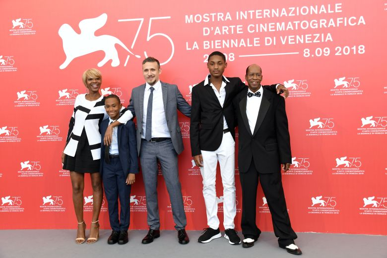 Roberto Minervini, Judy Hill, Titus Turner, Kevin Goodman, Ronaldo King'What You Gonna Do When The World's On Fire?' photocall, 75th Venice International Film Festival, Italy - 02 Sep 2018