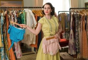 """Rachel Brosnahan in """"The Marvelous Mrs. Maisel"""" Season 2"""