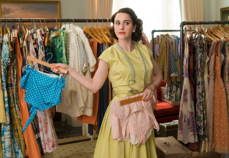 "Rachel Brosnahan in ""The Marvelous Mrs. Maisel"" Season 2"