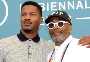 Nate Parker and Spike Lee