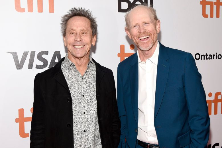Brian Grazer and Ron Howard'Once We Were Brothers: Robbie Robertson And The Band' premiere, Arrivals, Toronto International Film Festival, Canada - 05 Sep 2019