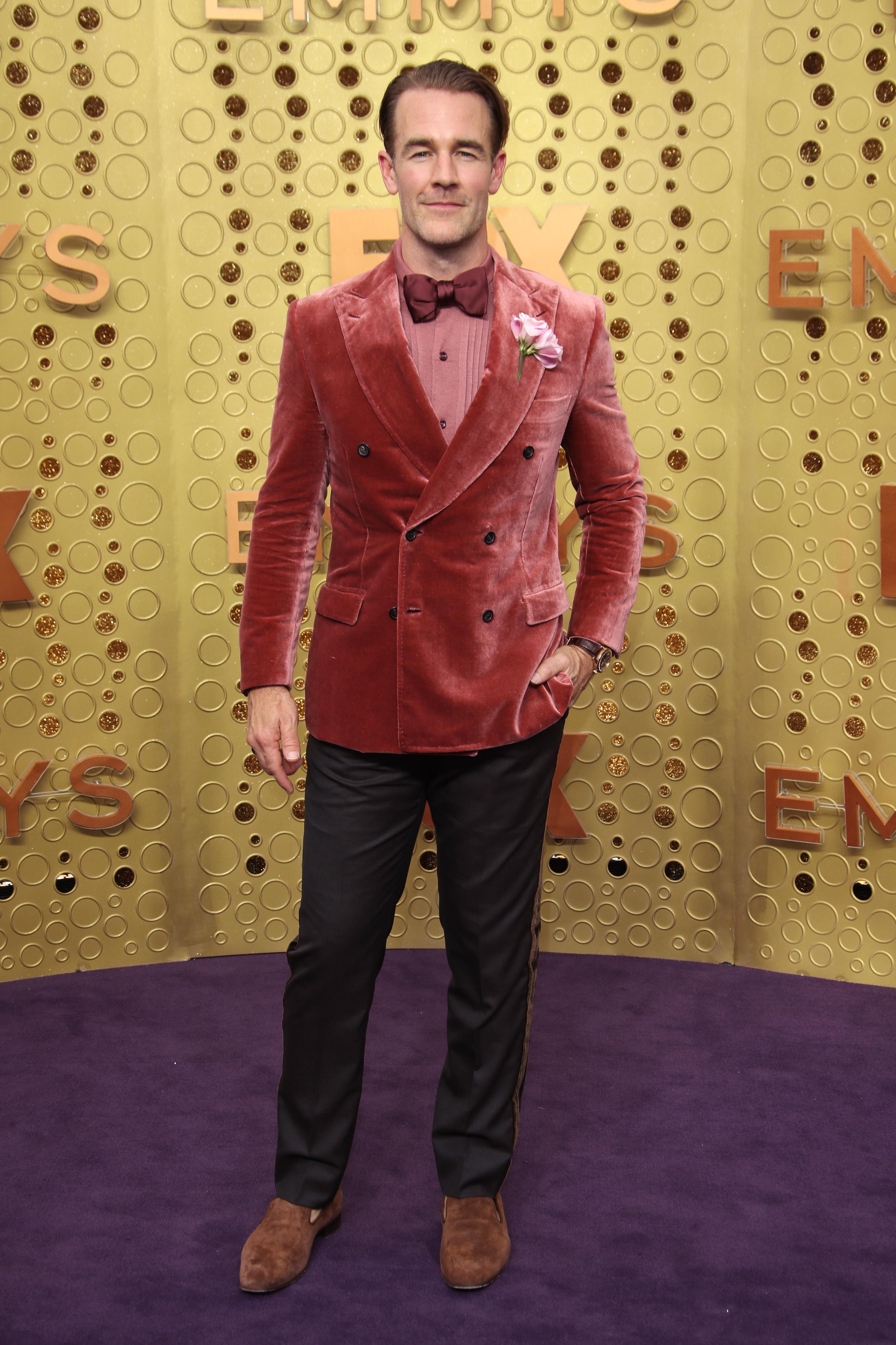 James Van Der Beek71st Annual Primetime Emmy Awards, Arrivals, Microsoft Theatre, Los Angeles, USA - 22 Sep 2019