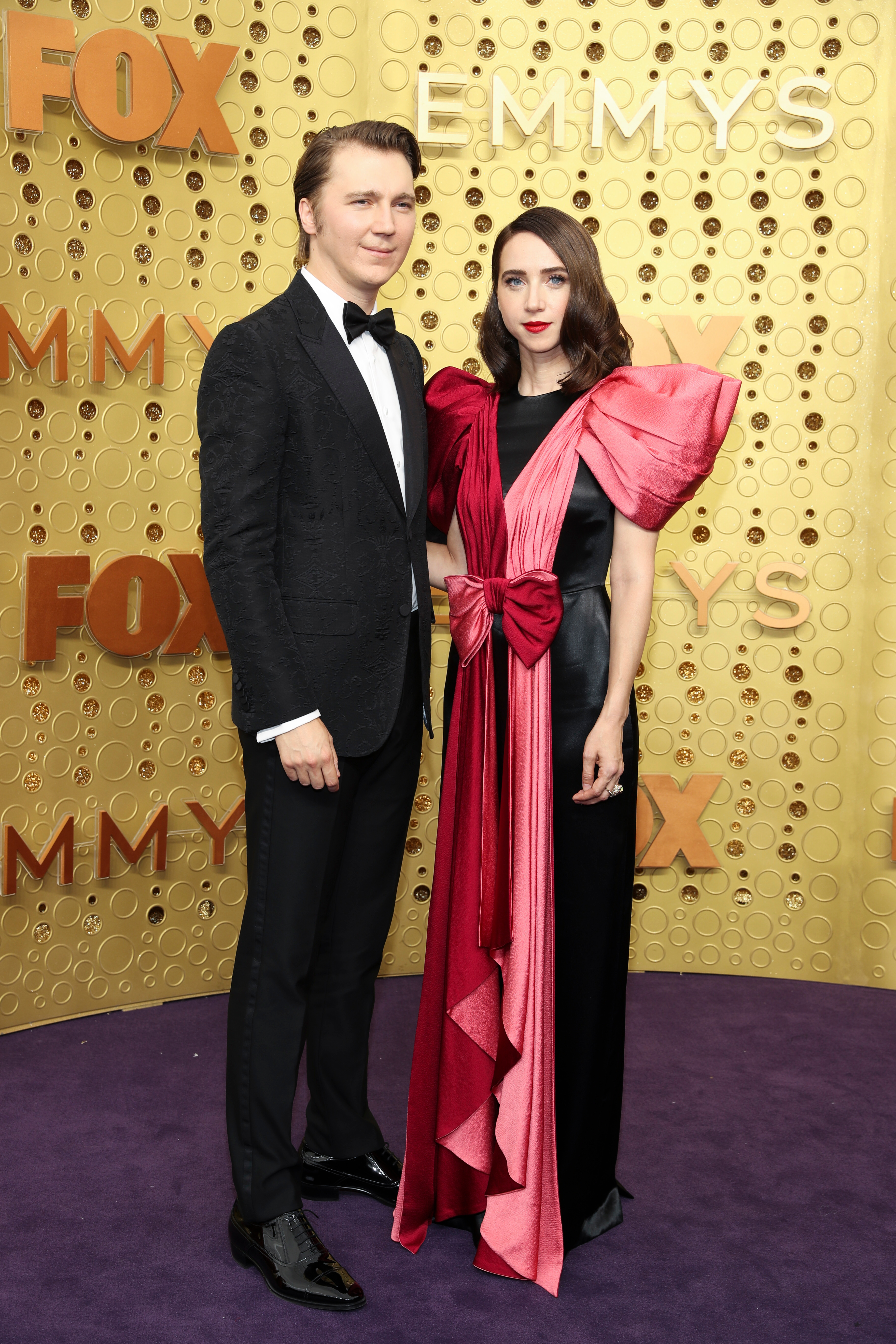 Paul Dano and Zoe Kazan71st Annual Primetime Emmy Awards, Arrivals, Microsoft Theatre, Los Angeles, USA - 22 Sep 2019
