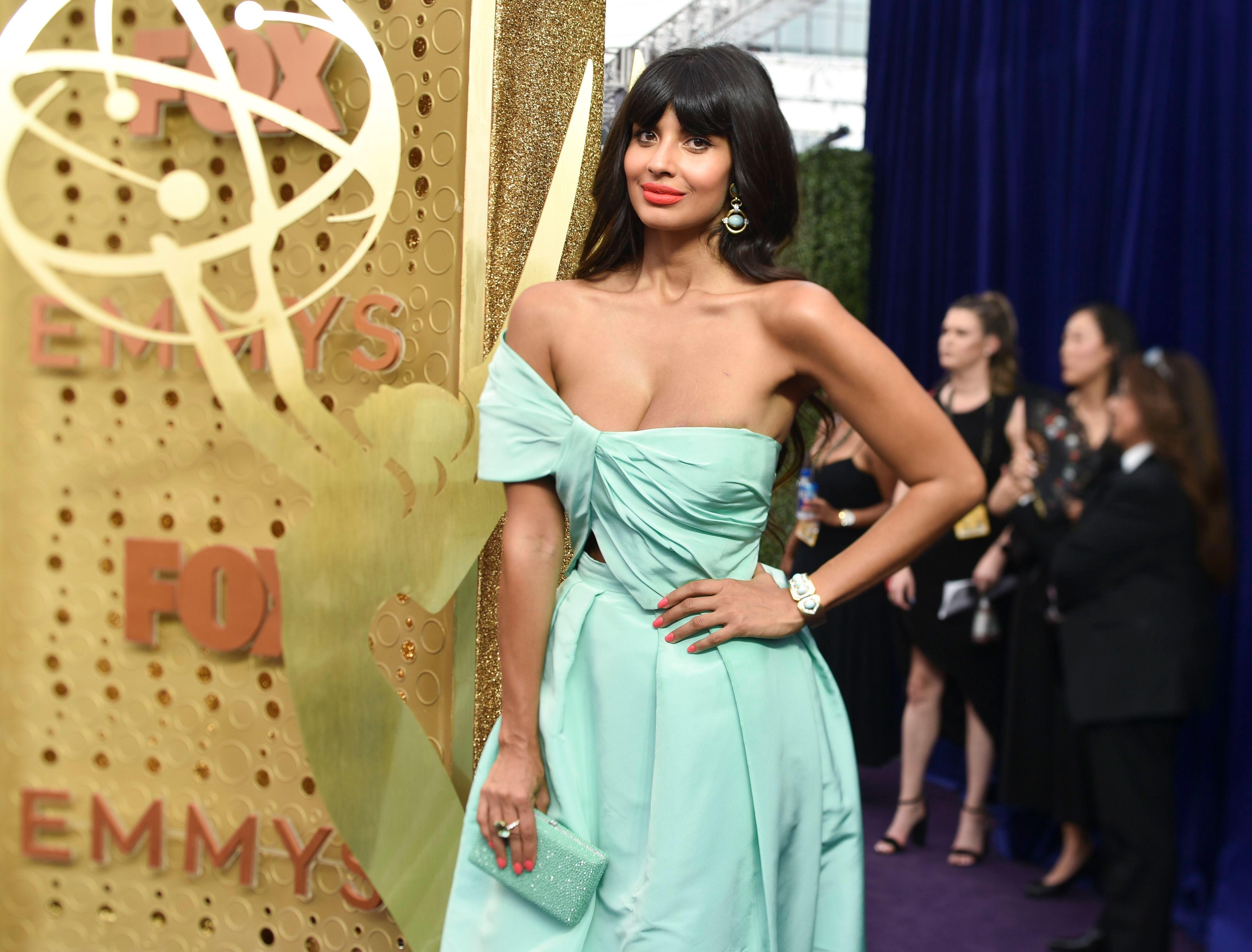 Jameela Jamil71st Annual Primetime Emmy Awards, Arrivals, Microsoft Theatre, Los Angeles, USA - 22 Sep 2019