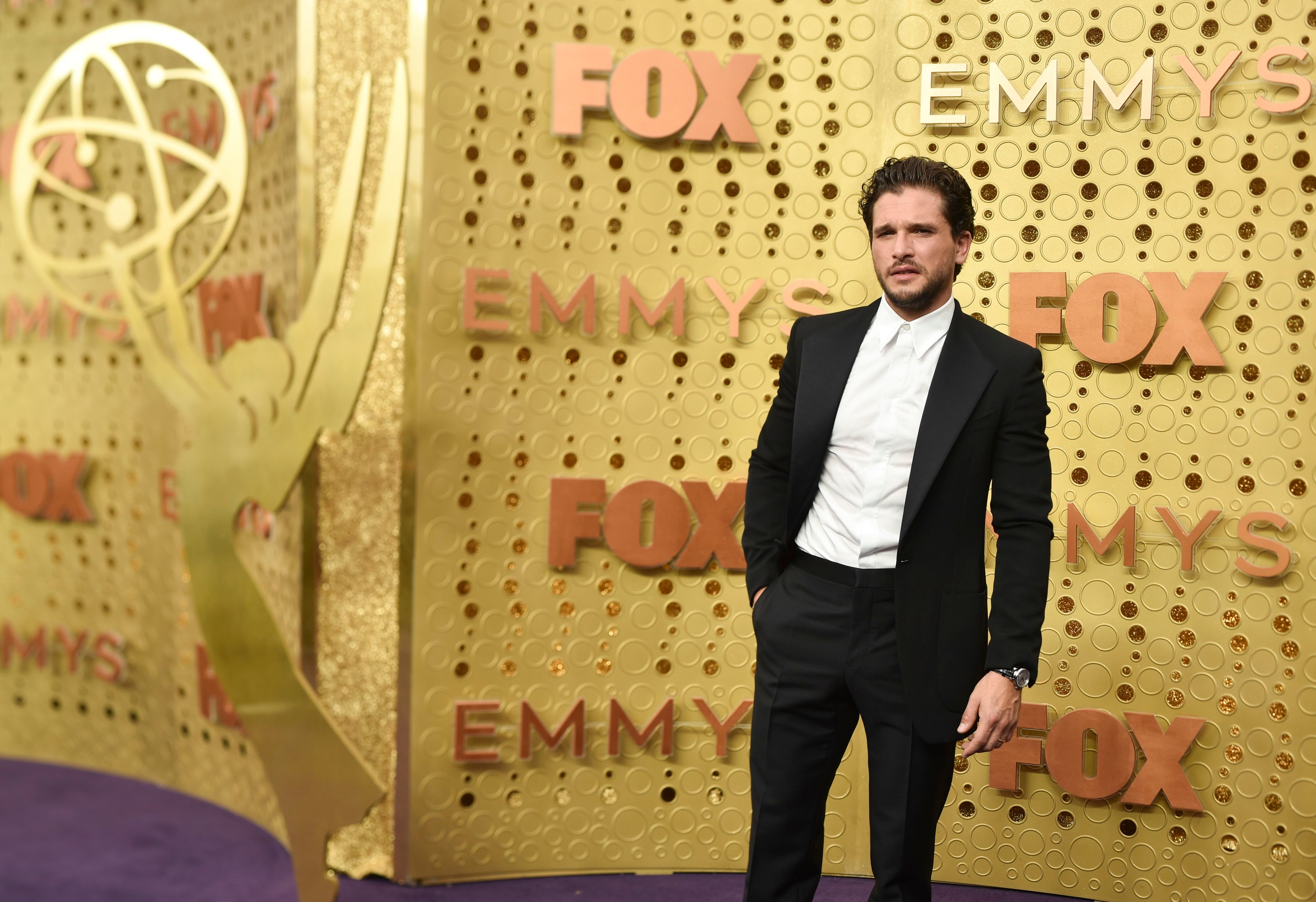 Kit Harrington71st Annual Primetime Emmy Awards, Arrivals, Microsoft Theatre, Los Angeles, USA - 22 Sep 2019