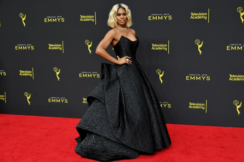 Laverne Cox71st Annual Primetime Creative Arts Emmy Awards, Day 2, Arrivals, Microsoft Theater, Los Angeles, USA - 15 Sep 2019