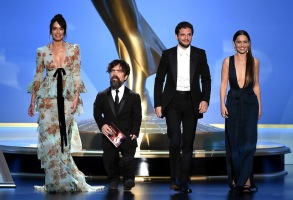 """Game of Thrones"" cast gathers for the 2019 Emmys"