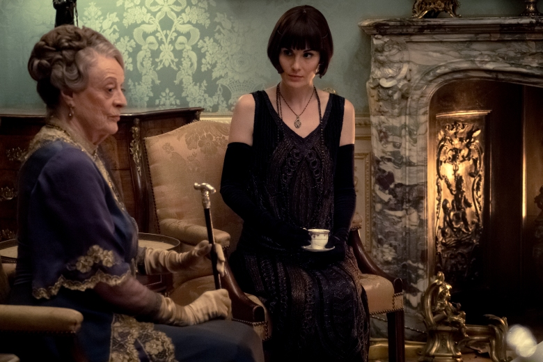 "Maggie Smith and Michelle Dockery, ""Downton Abbey"""