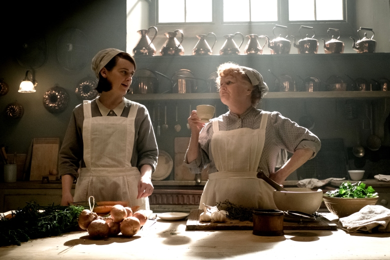 "Sophie McShera and Lesley Nicol, ""Downton Abbey"""