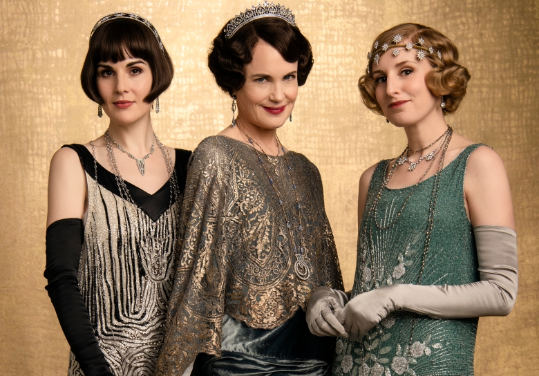 "Michelle Dockery, Elizabeth McGovern, and Laura Carmichael, ""Downton Abbey"""
