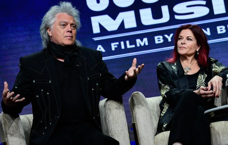 Marty Stuart and Rosanne Cash