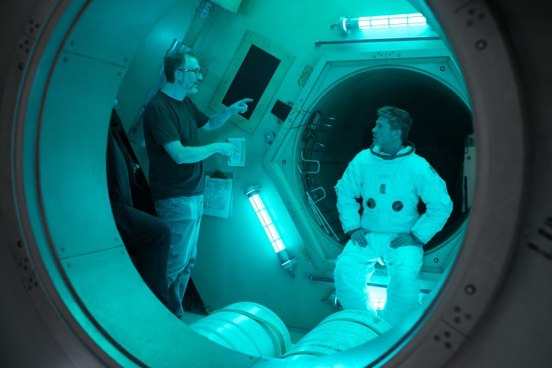 """Ad Astra"" James Gray, Brad Pitt"