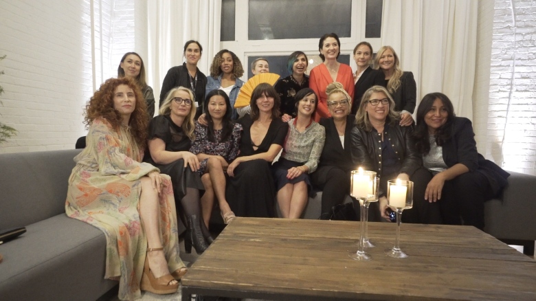 IndieWire Celebrates Female Filmmakers TIFF Dinner