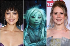 """Nathalie Emmanuel and Beccy Henderson, """"The Dark Crystal: Age of Resistance"""""""