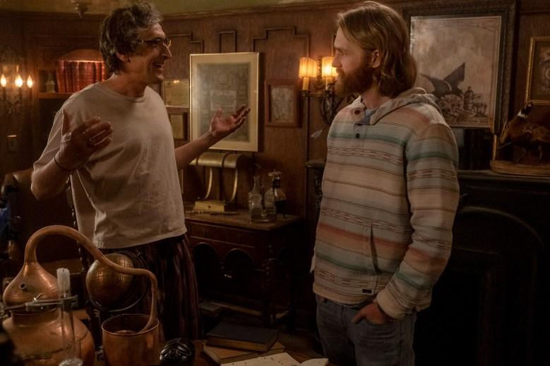 "Wyatt Russell as Sean ""Dud"" Dudley, David Pasquesi as Blaise St John - Lodge 49 _ Season 2, Episode 5 - Photo Credit: Jackson Lee Davis/AMC"