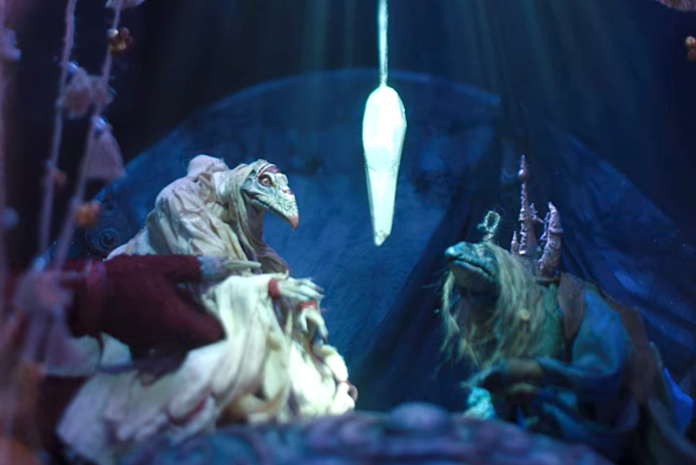 "Puppet show in ""The Dark Crystal: Age of Resistance"""