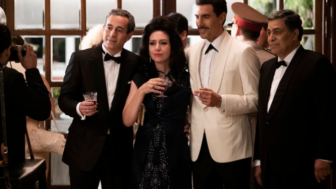 The Spy' (Netflix) Review: Sacha Baron Cohen's Drama Is Too