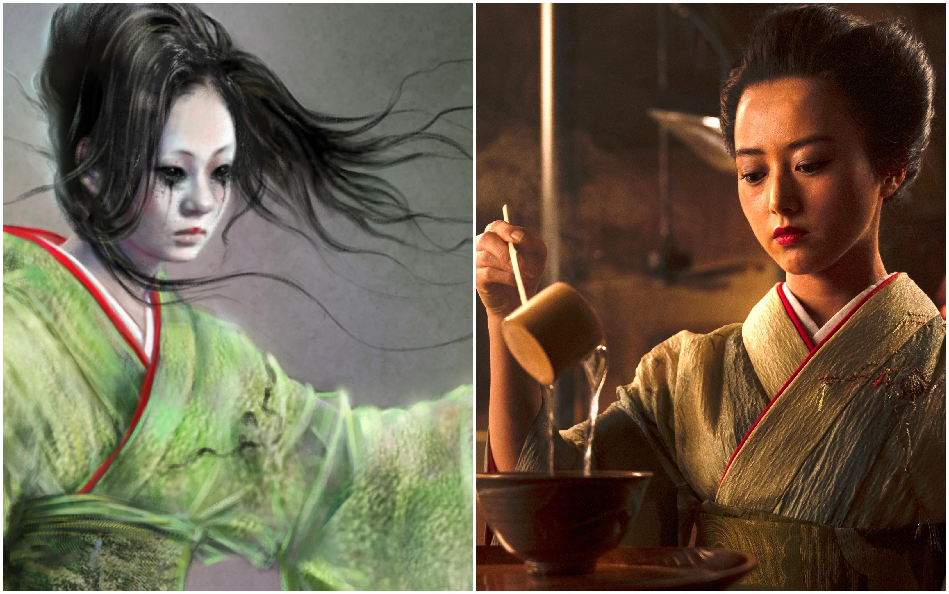 'The Terror: Infamy' Costume Designer Reveals the Secrets Hidden in the Ghost's Kimonos