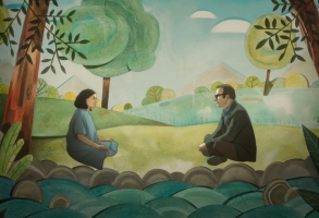 """Undone"" Rosa Salazar and Bob Odenkirk Amazon Series"