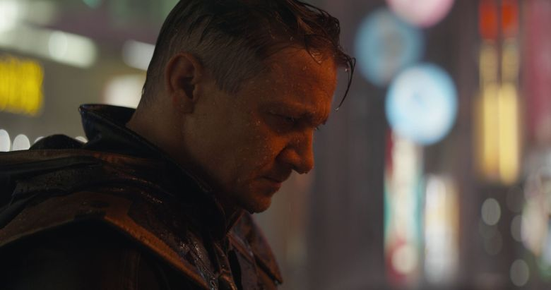 Editorial use only. No book cover usage.Mandatory Credit: Photo by Marvel/Disney/Kobal/Shutterstock (10213611cb)Jeremy Renner as Clint Barton/Hawkeye'Avengers: Endgame' Film - 2019After the devastating events of Avengers: Infinity War (2018), the universe is in ruins. With the help of remaining allies, the Avengers assemble once more in order to undo Thanos' actions and restore order to the universe.