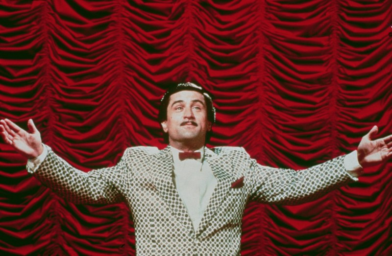 Editorial use only. No book cover usage. Mandatory Credit: Photo by 20th Century Fox/Kobal/Shutterstock (5881626c) Robert De Niro The King Of Comedy - 1982 Director: Martin Scorsese 20th Century Fox USA Scene Still Comedy La Valse des pantins