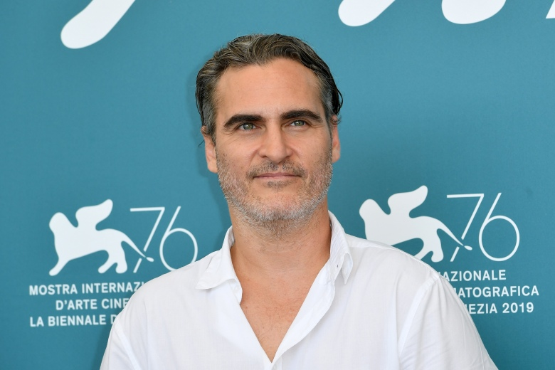 Joaquin Phoenix'Joker' photocall, 76th Venice Film Festival, Italy - 31 Aug 2019