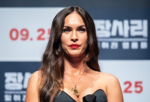 Megan Fox'Battle of Jangsari' film press conference, Seoul, South Korea - 21 Aug 2019