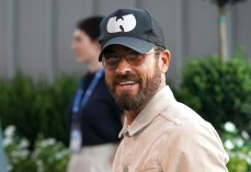 Justin Theroux attends the quarterfinals of the U.S. Open tennis championships, in New York2019 US Open Tennis - Day 9, New York, USA - 03 Sep 2019