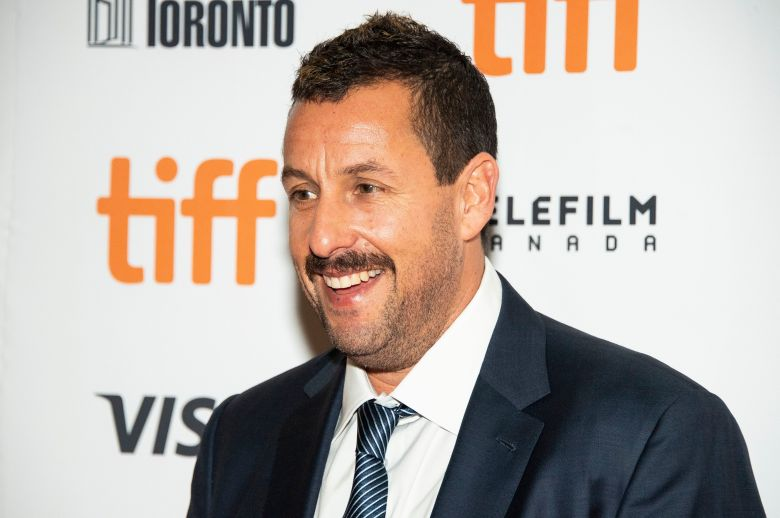 Adam Sandler attends a premiere for