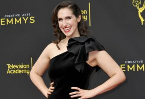 Megan Amram arrives at night two of the Creative Arts Emmy Awards, at the Microsoft Theater in Los Angeles2019 Creative Arts Emmy Awards - Night Two - Arrivals, Los Angeles, USA - 15 Sep 2019