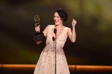 "Phoebe Waller-Bridge accepts the award for outstanding lead actress in a comedy series for ""Fleabag"" at the 71st Primetime Emmy Awards, at the Microsoft Theater in Los Angeles71st Primetime Emmy Awards - Show, Los Angeles, USA - 22 Sep 2019"