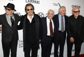 "Joe Pesci, Al Pacino, Martin Scorsese, Robert De Niro and Harvey KeitelNYFF57 Opening Night Gala Presentation and the World Premiere of ""THE IRISHMAN"" - Arrivals, New York, USA - 27 Sep 2019"