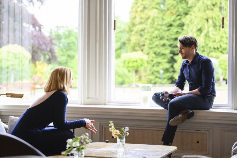 HBO Succession Sarah Snook and Kieran Culkin