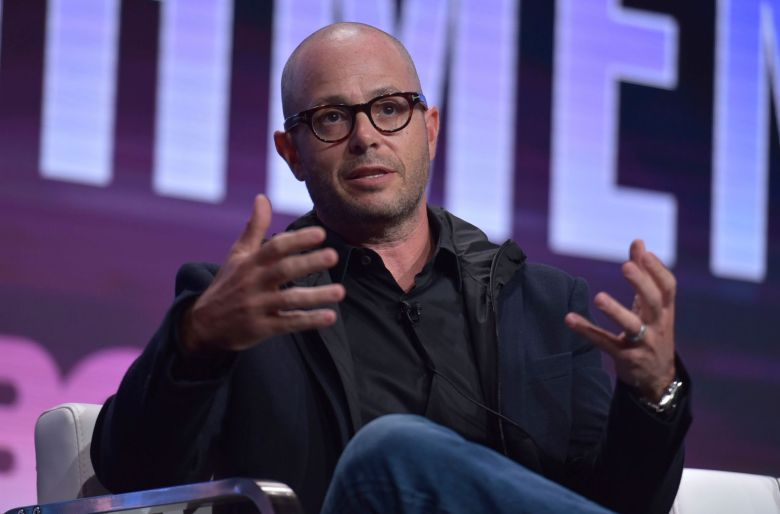 "Damon Lindelof participates in HBO's ""Watchmen"" panel at the Television Critics Association Summer Press Tour, in Beverly Hills, Calif2019 Summer TCA - HBO, Beverly Hills, USA - 24 Jul 2019"