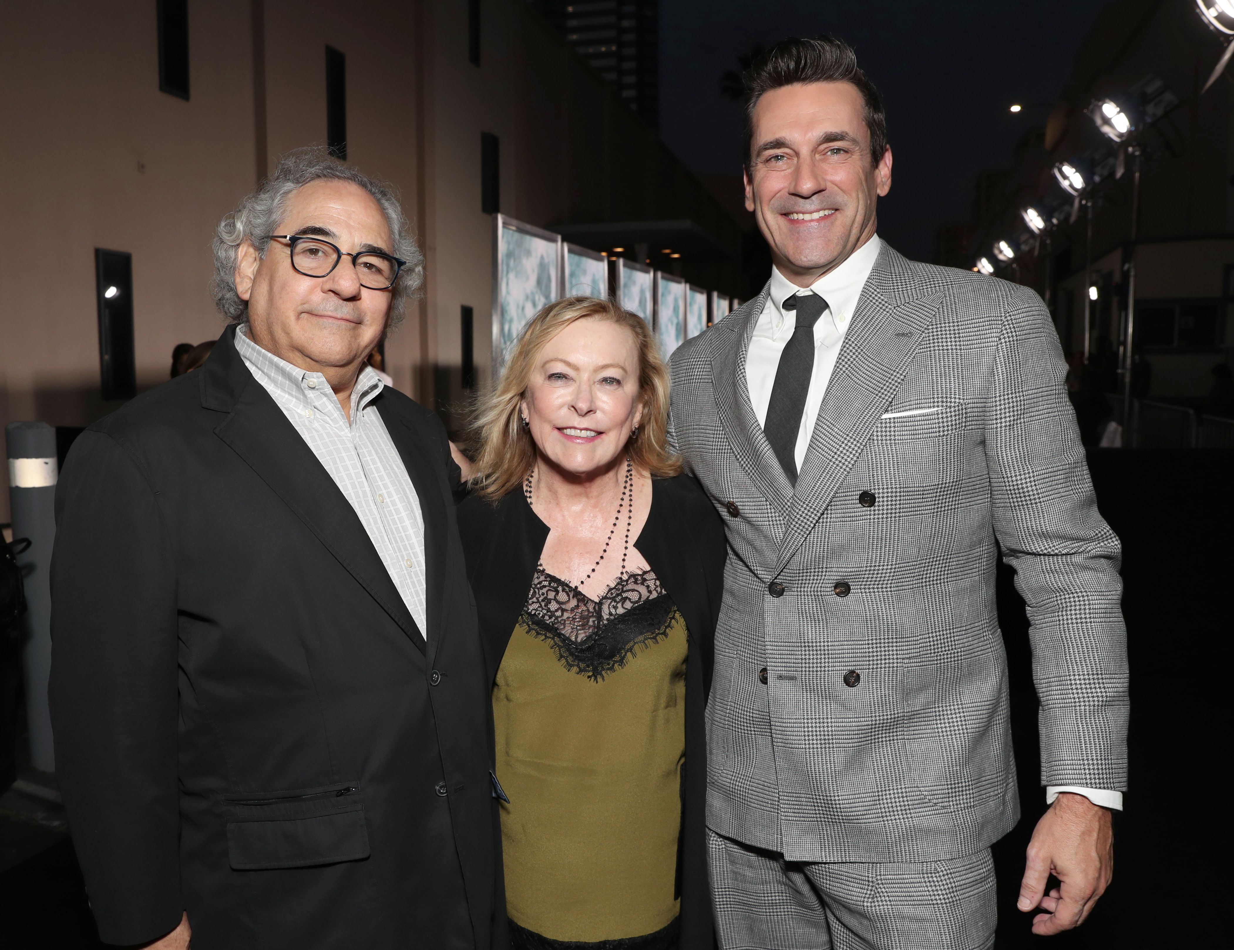 Steve Gilula, Nancy Utley, Jon Hamm'Lucy in the Sky' film premiere, Arrivals, Darryl F. Zanuck Theater, Los Angeles, USA - 25 Sep 2019