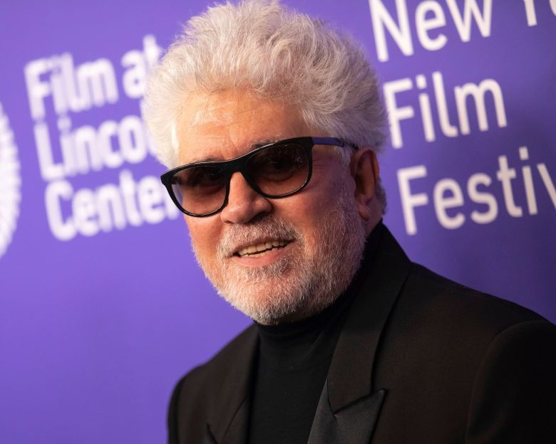 "Pedro Almodovar attends the premiere of ""Pain and Glory"" at Alice Tully Hall during the 57th New York Film Festival, in New York2019 NYFF - ""Pain and Glory"" Premiere, New York, USA - 28 Sep 2019"