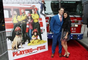 John Cena, Shay ShariatzadehParamount Pictures presents the US premiere of 'Playing With Fire', Arrivals, AMC Lincoln Square, New York, USA - 26 Oct 2019