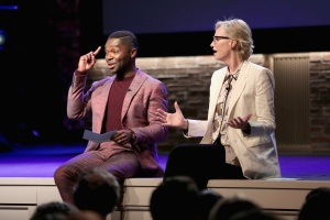 David Oyelowo and Jane Lynch Bring Humor and Heft to 'Inside the Actors Studio'