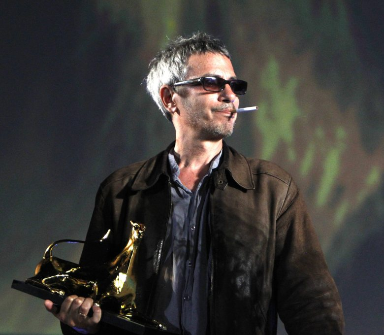 French Director Leos Carax Receives an Honorary Award During the Locarno Film Festival in Locarno Switzerland 03 August 2012 the 65th Locarno Film Festival Runs From 01 to 11 August 2012 Switzerland Schweiz Suisse LocarnoSwitzerland Locarno Film Festival - Aug 2012