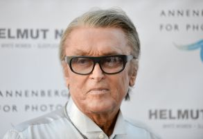 Robert Evans arrives at Helmut Newton: White Women - Sleepless Nights - Big Nudes exhibit opening at the Annenberg Space Photography on in Los AngelesHelmut Newton's White Women, Sleepless Nights, Big Nudes Exhibit Opening, Los Angeles, USA - 27 Jun 2013