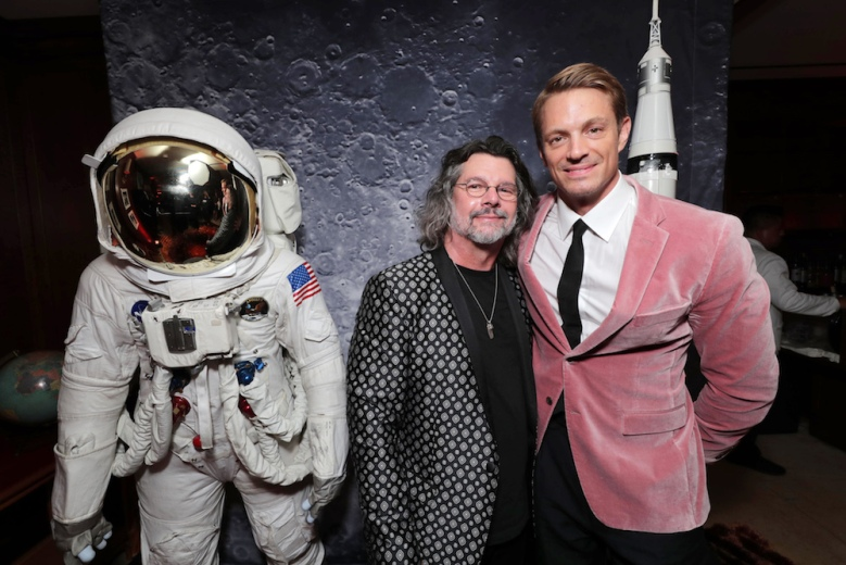 "Ronald D. Moore, Showrunner/Creator/Executive Producer, and Joel Kinnaman at the ""For All Mankind"" Apple TV+ World Premiere Celebration at the Sunset Tower HotelApple TV+ FOR ALL MANKIND World Celebration at the Sunset Tower Hotel, Los Angeles, CA, USA - 15 October 2019"