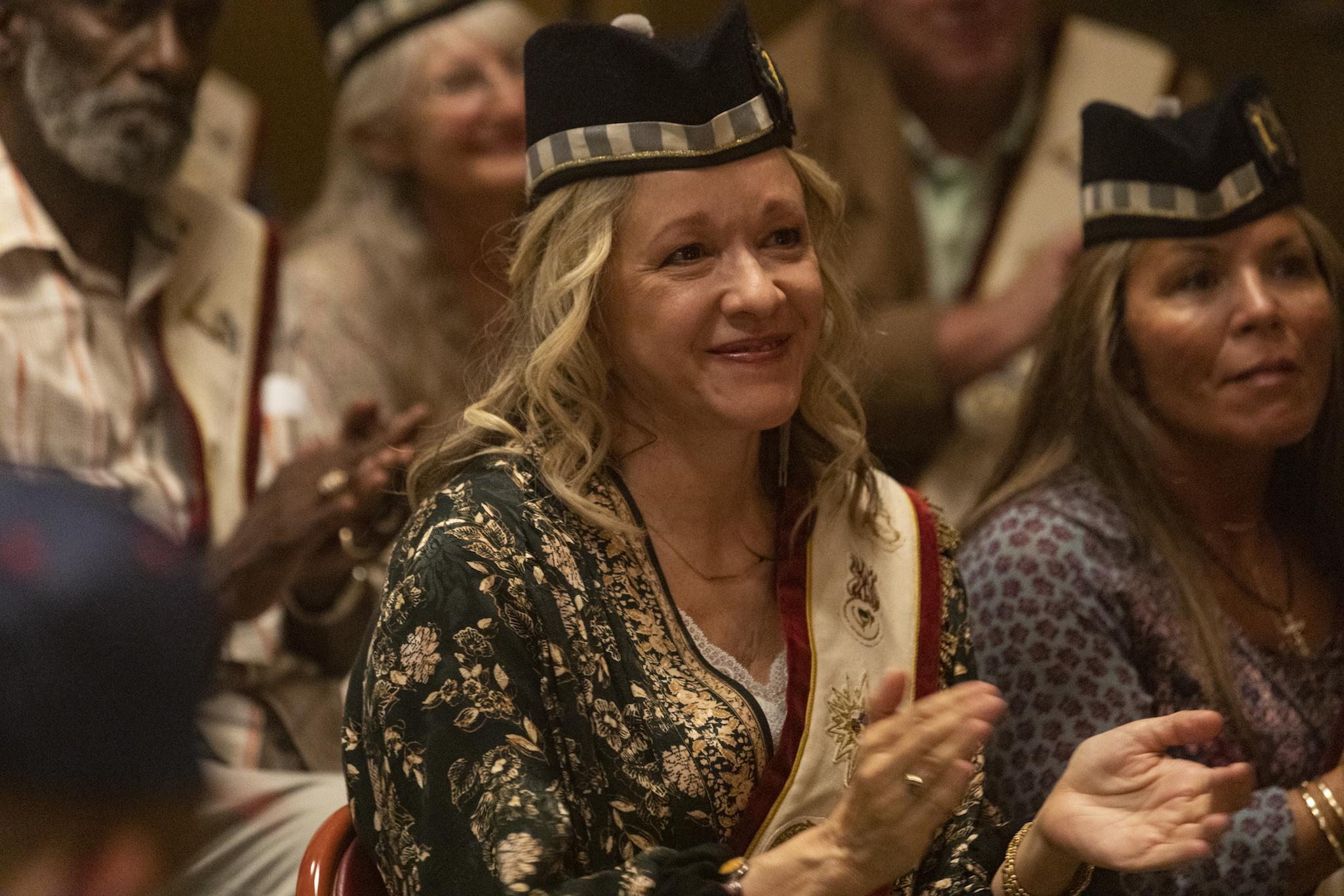 Linda Emond as Connie Clark - Lodge 49 _ Season 2, Episode 10 - Photo Credit: Jackson Lee Davis/AMC