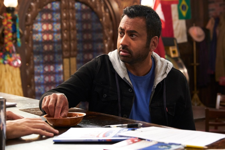 "SUNNYSIDE -- ""Schnorf Town"" Episode 104 -- Pictured: Kal Penn as Garrett -- (Photo by: Tina Thorpe/NBC)"
