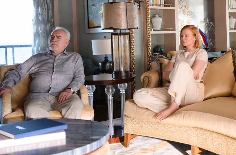 HBO Succession S2 07.23.2019 Croatia S2 Ep 10 - Sc45/46 INT YACHT - OWNER'S DECK - SALON Shiv and Logan talk about Kendall Succession S2 | Sourdough Productions, LLC Silvercup Studios East - Annex 53-16 35th St., 4th FloorLong Island City, NY 11101 Office: 718-906-3332