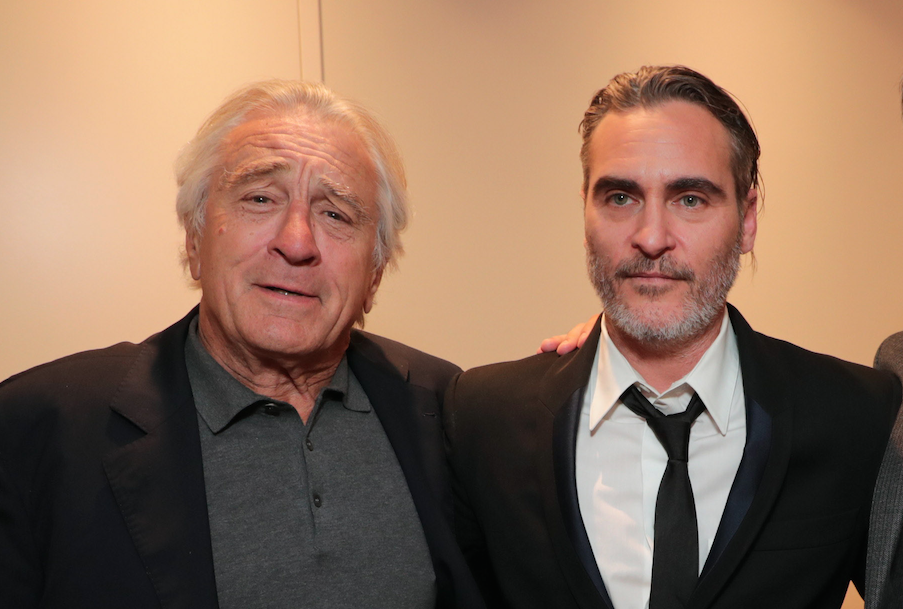 Joaquin Phoenix and Robert De Niro
