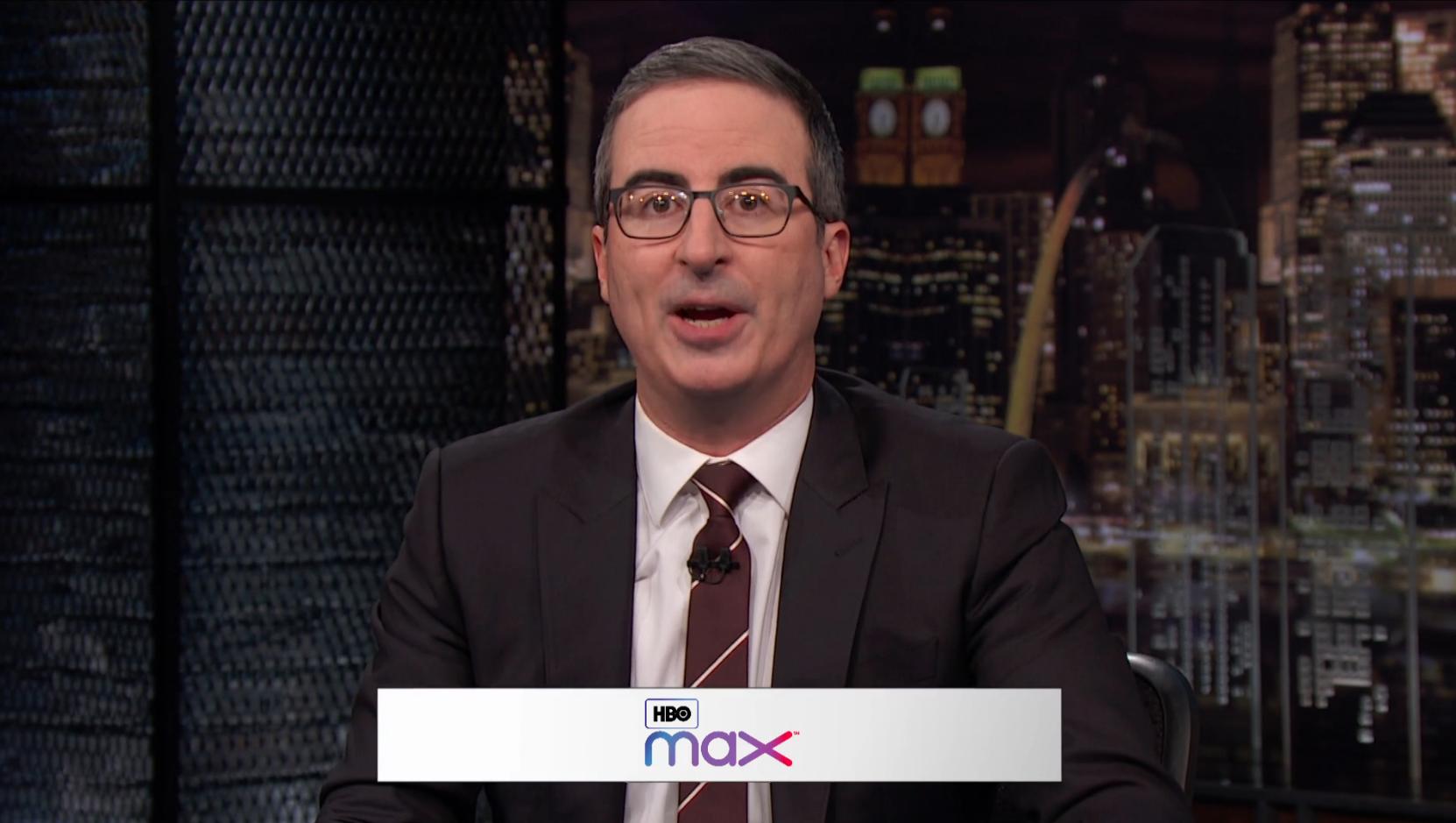 HBO's John Oliver Slams New Streamer HBO Max: 'It's Not HBO, It's Just TV'