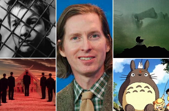 Wes Anderson Fav Movies