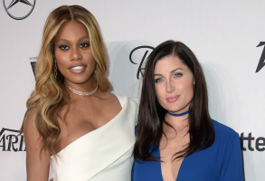 Laverne Cox and Trace Lysette